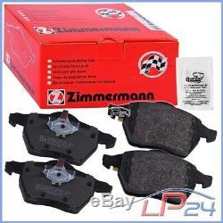 Zimmermann Sport Coat Drive Z + Pads Rear Vw Bora Golf 4 1d