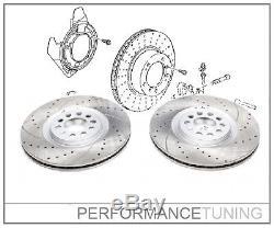 2 Disques de frein SPORT HIGH-CARBON VW GOLF 4 / AUDI A3 TT / SEAT / SKODA