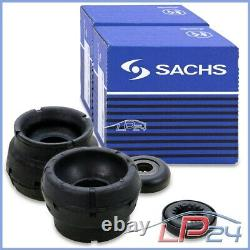 2x Sachs Amortisseur+coupelles+kit De Protection Avant Vw Bora 1j Golf 4 1j