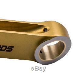 4X Titanizing H beam Rods for VW Golf mk5 mk6 mk7 1.4 TSI TUV approved ARP BOLTS