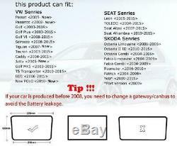 6.5Autoradio RCD330G+, MirrorLink, BT, USB, AUX, Pour VW Golf, Caddy, Passat, Polo, CC