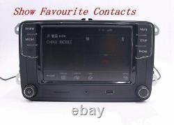 6.5 Autoradio RCD330G+, BT, USB, RVC, AUX, Pour VW, Golf, Caddy, Polo, Passat, EOS