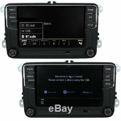 6.5 Autoradio RCD360 CarPlay 187B BT Pour VW Golf 5 6 Polo Tiguan Passat Touran
