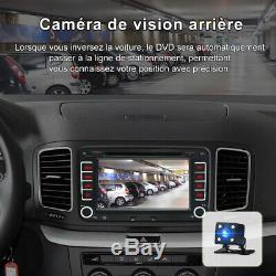 7 2 DIN Autoradio Navi GPS DVD USB DAB+ Für VW Golf Passat Touran Seat Skoda