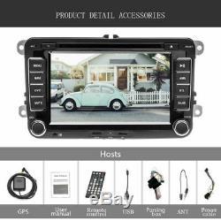 7 2 Din Autoradio Usb Navi Wifi DVD Mp5 Gps Pour Vw Golf Polo Passat Seat Skoda