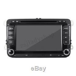 7'' Autoradio 2DIN DVD Stéréo GPS Touchscreen For VW Passat T5 Golf MK5 MK6
