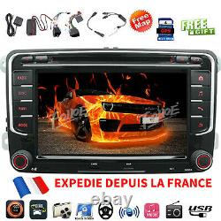 7 Autoradio DVD GPS Bluetooth Pour VW Golf MK5 MK6 Passat CC Skoda Touran Jetta
