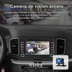 7 Pour VW Radio Golf 5 Skoda Yeti Seat Altea XL Toledo Autoradio CD DVD GPS BT