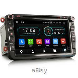 8Autoradio Android 10 Radio GPS For VW Multivan T5 Golf MK6 Jetta Skoda Octavia
