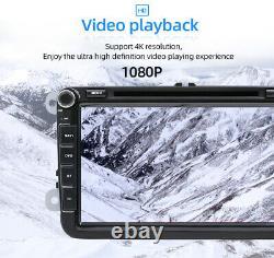 8 Autoradio Pour VW Passat Golf Tiguan Jetta Seat Android 10.0 GPS Navi Car DVD