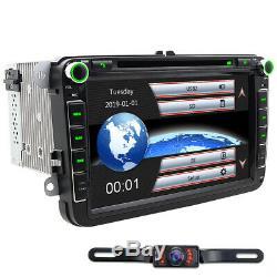 8 GPS Autoradio CD For VW GOLF 5 6 PASSAT Touran T5 TIGUAN EOS SEAT Altea EOS