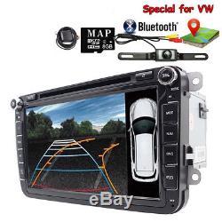 8 GPS Autoradio DVD For VW GOLF 5 6 PASSAT Touran T5 TIGUAN EOS SEAT Altea EOS