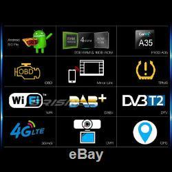 9DAB+Autoradio Android 9.0 GPS VW PASSAT GOLF 5 TIGUAN JETTA POLO AMAROK SEAT
