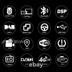 9DSP Android 10.0 Autoradio CarPlay Navi For VW Passat Golf 5 Tiguan Polo Jetta