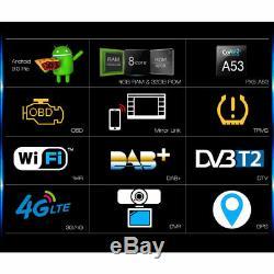 9 Android 9.0 Autoradio For VW Golf 5 ESO Passat Polo Tiguan Jetta Skoda 8-Core