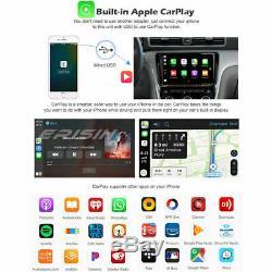9 Android 9.0 Autoradio For VW Golf Touran Passat Sharan Skoda CarPlay DSP Navi