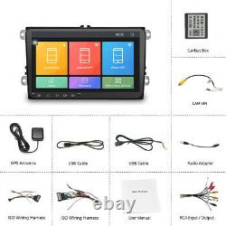 9 Autoradio Android8.1 GPS 2DIN Für VW GOLF 5 6 Passat Tiguan Polo Seat Skoda