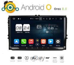 9 pouces Android autoradio pour VW T5 Seat Skoda Golf Gps Mp3 Android USB Oreo