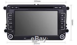 AUTORADIO DVD GPS 7 TACTILE VW Volkswagen Golf 5 6 Tiguan Passat Skoda Seat