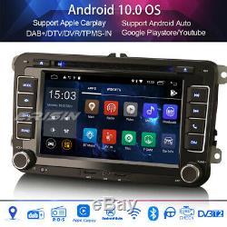 Android 10.0 Autoradio DAB+Carplay 4G for VW PASSAT GOLF 5 TOURAN EOS SKODA SEAT