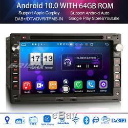 Android 10.0 DAB+Autoradio VW BORA GOLF IV TRANSPORTER Seat IBIZA Carplay 8-Core