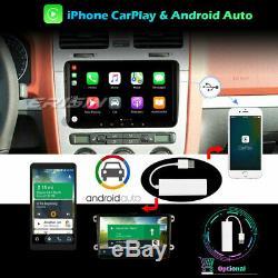 Android 10 Autoradio For VW Seat Golf T5 Fabia Skoda Tiguan CarPlay DAB+ 9 5118