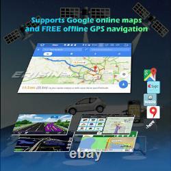 Android 10 Autoradio pour VW Golf Caddy Jetta Polo T5 DAB+CarPlay Radio 4G GPS