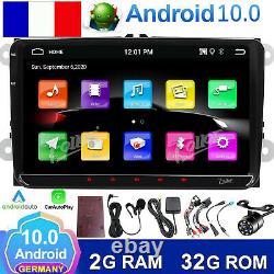Android 10 Wifi Carplay Autoradio Android Auto for VW Jetta Passat EOS Golf CC