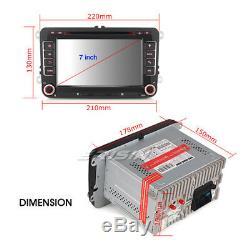 Android 8.1 Autoradio Car DVD player GPS BT OBD2 WiFi TNT for Skoda Passat Golf