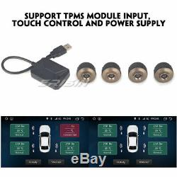 Android 8.1 Autoradio tactile GPS DVD Bluetooth OBD2 TNT for EOS Passat Golf 5 6
