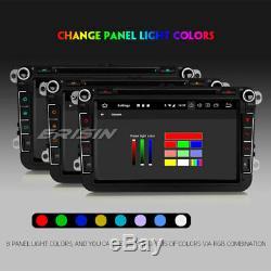 Android 9.0 Autoradio GPS DAB+CD Navi pour VW Passat Golf 5 Polo Tiguan Eos Seat