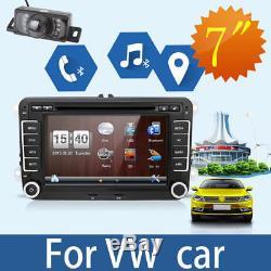 Autoradio For VW Golf 5 6 Tiguan Passat Polo Seat Skoda GPS Bluetooth Dvd+CAMERA