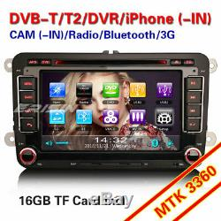 Autoradio For VW Passat Golf Polo Tiguan Eos Jetta Navi TNT GPS 3G DVD SWC BT SD