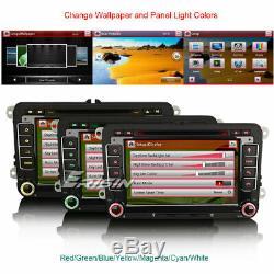 Autoradio TNT GPS DAB+ USB for VW Passat Golf Polo Tiguan Touran EOS Seat Skoda