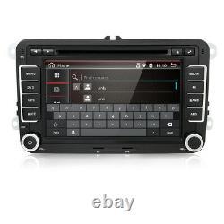Autoradio pour VW Passat Golf Tiguan Android 10.0 GPS Navi Car DVD WIFI DAB USB