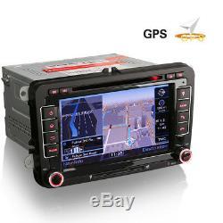 Bluetooth USB Autoradio GPS Navigation CD MP3 SD for VW Passat CC 3C Golf V VI