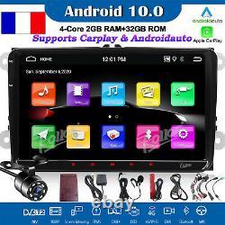 Carplay Android 10 9 Autoradio Wifi GPS Bluetooth For VW Passat Golf Mk5 Jetta