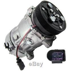 Climat compresseur climatisation pour Audi a3 Vw Bora Golf Polo Seat Leon Skoda