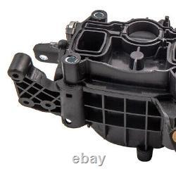 Collecteur D'Admission + Clapet actionneur moteur pour VW GOLF TIGUAN 2.0 TDI