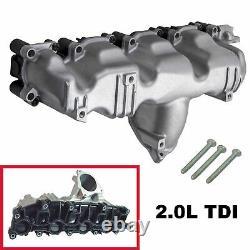 Collecteur admission ALU pour VW BEETLE GOLF PASSAT TIGUAN 2,0 TDI = 03L129711