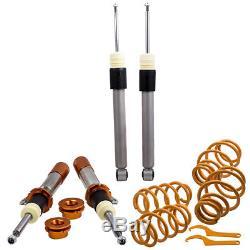 Combinés Filetés For VW Golf MK5 MK6 JETTA 5 Passat Réglable Suspension Coilover