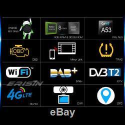 DAB+Autoradio Android 8.0 GPS NAVI DVD PASSAT GOLF 5 TIGUAN JETTA EOS SEAT Skoda