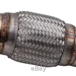 Downpipe Décatalyseur Tube Afrique INOX 3 for VW GOLF 4 / BORA 1.8T / 1.8 GTI