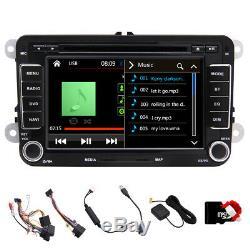 GPS Navigation Autoradio For VW Passat CC Golf 5/6 Tiguan Polo Jetta Skoda Seat