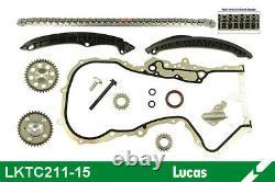 Kit chaîne de distribution LUCAS LKTC211-15 pour POLO, GOLF, TOURAN, A1, TIGUAN