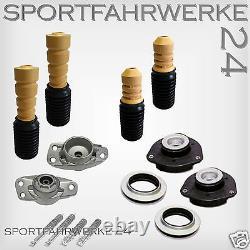 Premium Jeu de Bras Oscillants Amortisseur Palier Puffer VW Golf 5 /V 1K 55mm