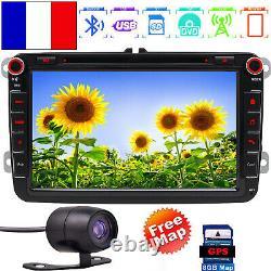 RNS510 Autoradio HD DVD SD GPS SAT NAV 8 For VW PASSAT TOURAN GOLF MK5 6 T5+CCD