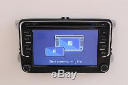 Radio Android 7.1 Pour Vw Golf Passat Polo Tiguan Touran Seat Skoda Stereo DVD