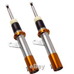 Réglable Combinés Filetés pour VW Golf MK5 MK6 Touran JETTA MK5 Suspension Kit