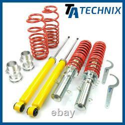 TA Technix Combinés Filetés VW Golf 4, Bora, Audi A3 8L, Seat Leon Toledo 1M
